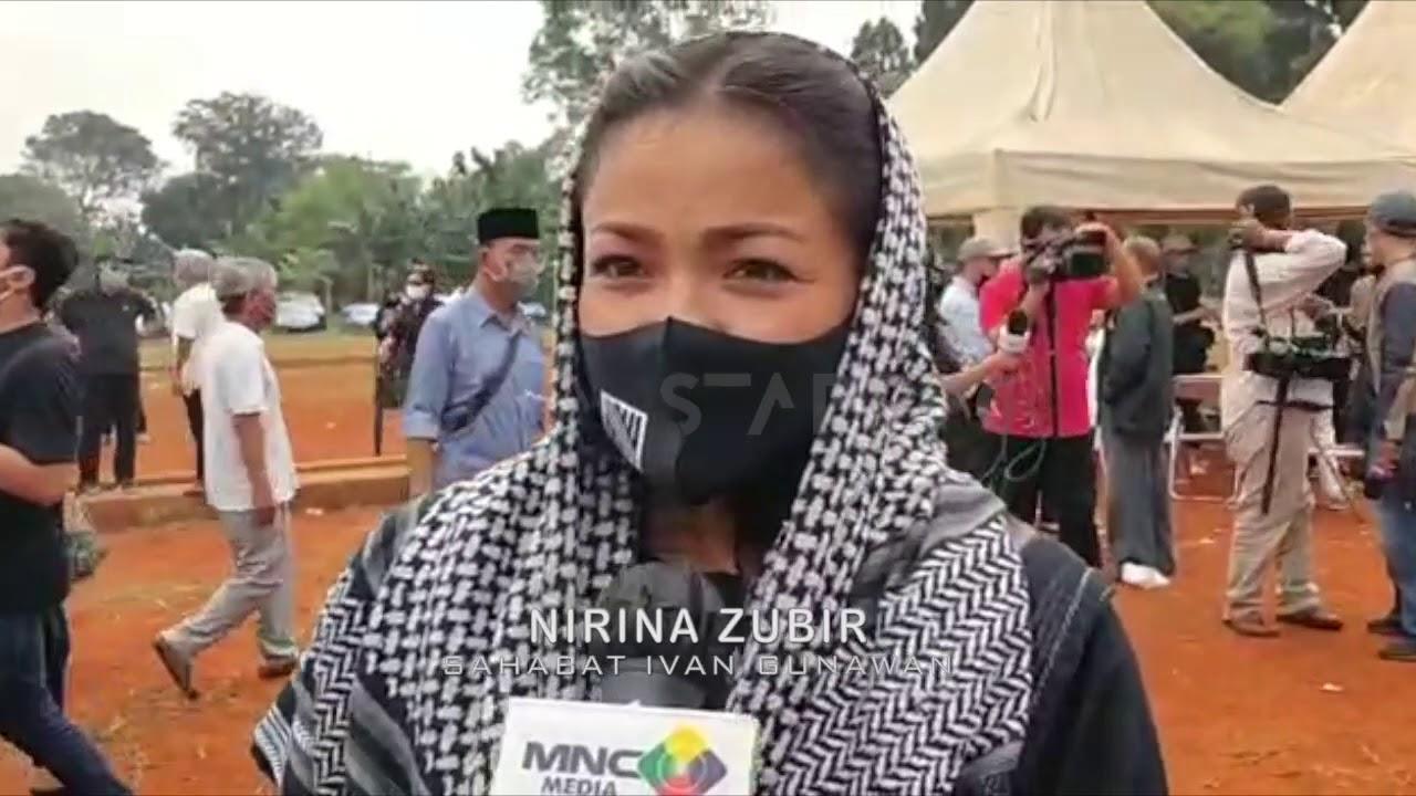 Tak Hanya Keluarga, Nirina Zubir-Ruben Onsu AntarJenazah Ayah Ivan Gunawan Ke Makam -StarUpdate-13/7