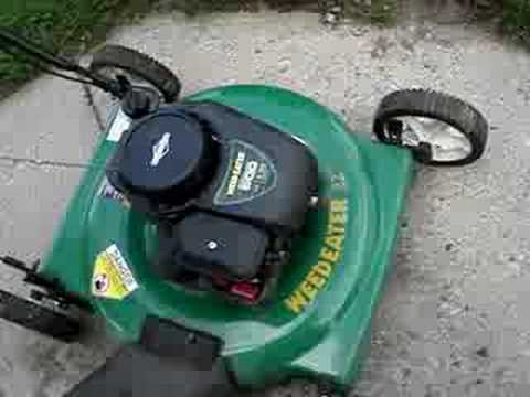 hqdefault 2007 weed eater lawnmower repaired youtube Weed Eater Replacement Parts at soozxer.org