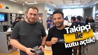 Türkiye'de ilk iPhone'u kim aldı? Takipçiyle Kutu Açılışı (5 Harika Hediye)