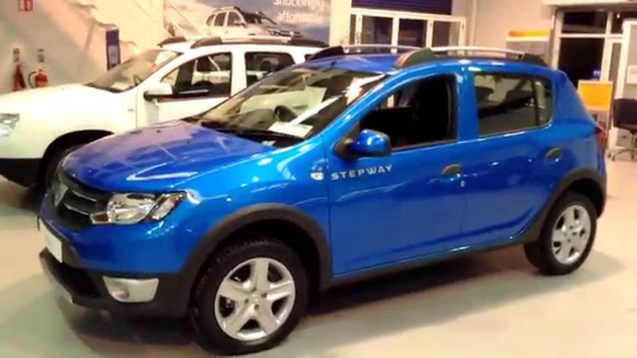 new dacia sandero stepway signature youtube. Black Bedroom Furniture Sets. Home Design Ideas
