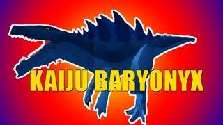 Kaiju Baryonyx Showcase (REMODEL)! - Roblox Dinosaur Simulator