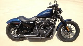 2013 harley davidson sportster vance and hines short shots