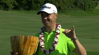 Highlights | Justin Thomas recovers expertly to win by three at SBS