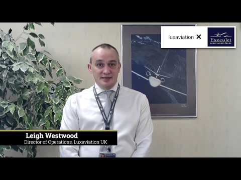 Leigh Westwood - Director of Operations, Luxaviation UK