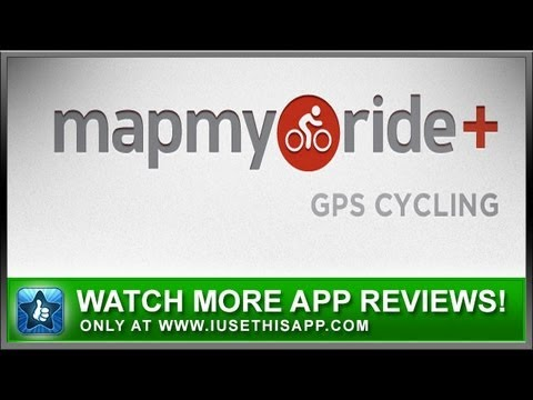 Map My Ride Plus iPhone App Review Workout Apps App Reviews