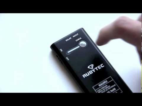Rubytec Nauru - Solar charger