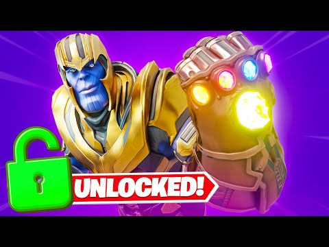 Unlocking *THANOS* EARLY in Fortnite