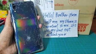 VIVO NEX S Restore Cracked   Restoration destroyed Phone   Rbuild Broken Phone