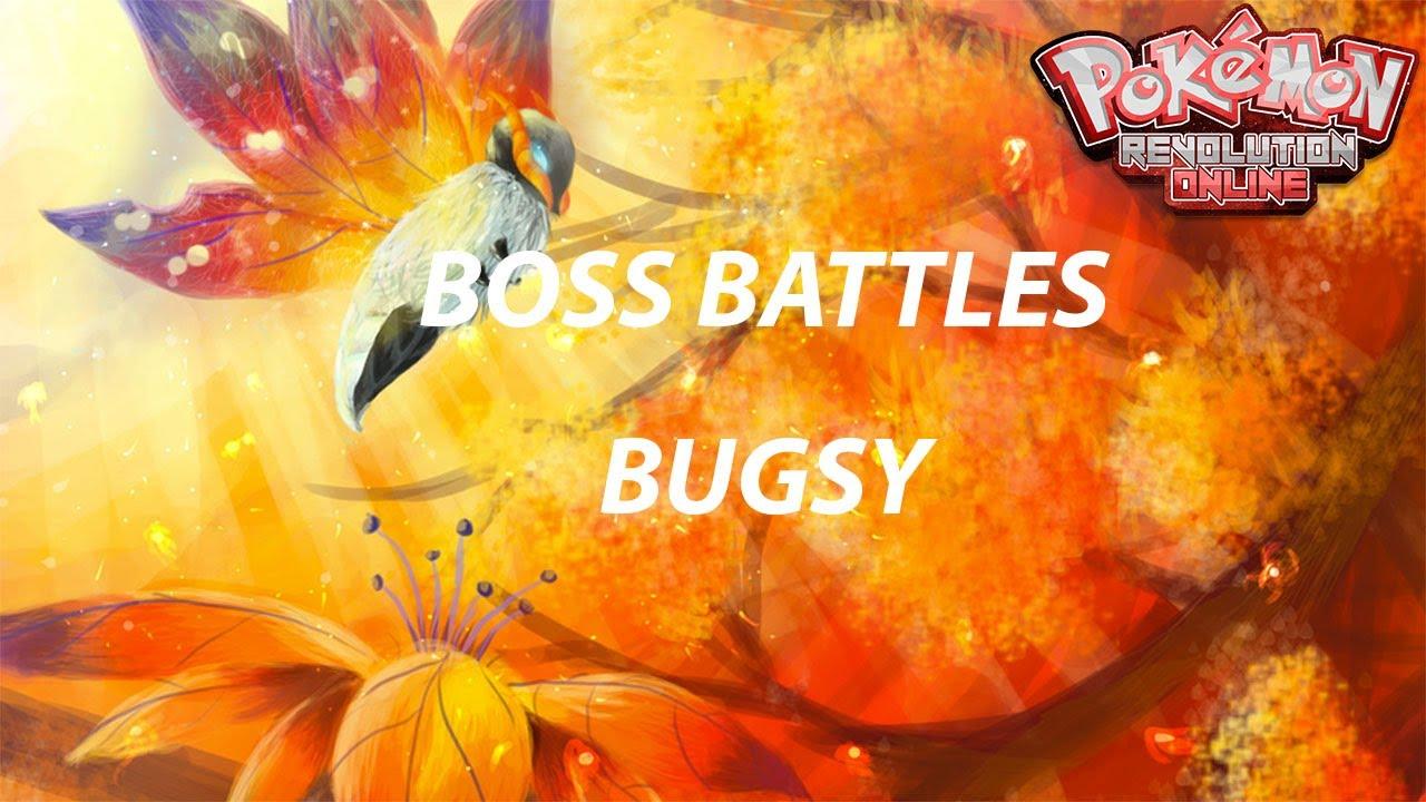 Boss Battles Boss Bugsy Hard Mode Pokemon Revolution Online