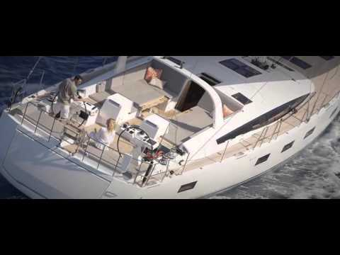 Jeanneau 64 sailing in Croatia with Europe Yachts Charter