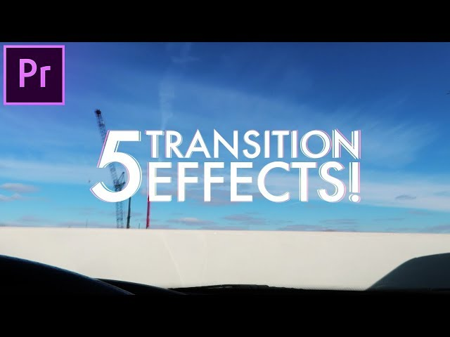 5 AWESOME Creative Transitions Effects in Adobe Premiere Pro! (CC 2017 Video Edit How to / Tutorial)