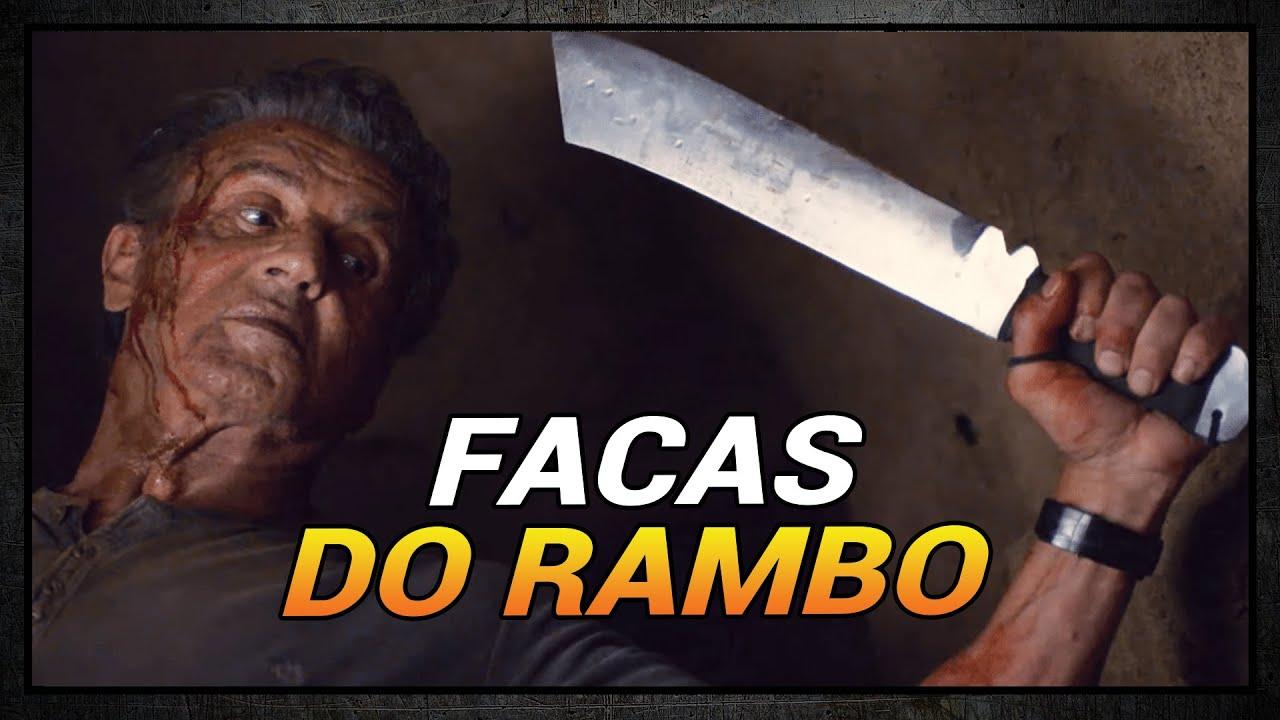 TUDO SOBRE AS FACAS DO RAMBO | LAST BLOOD | RAMBO 5 | LADO R