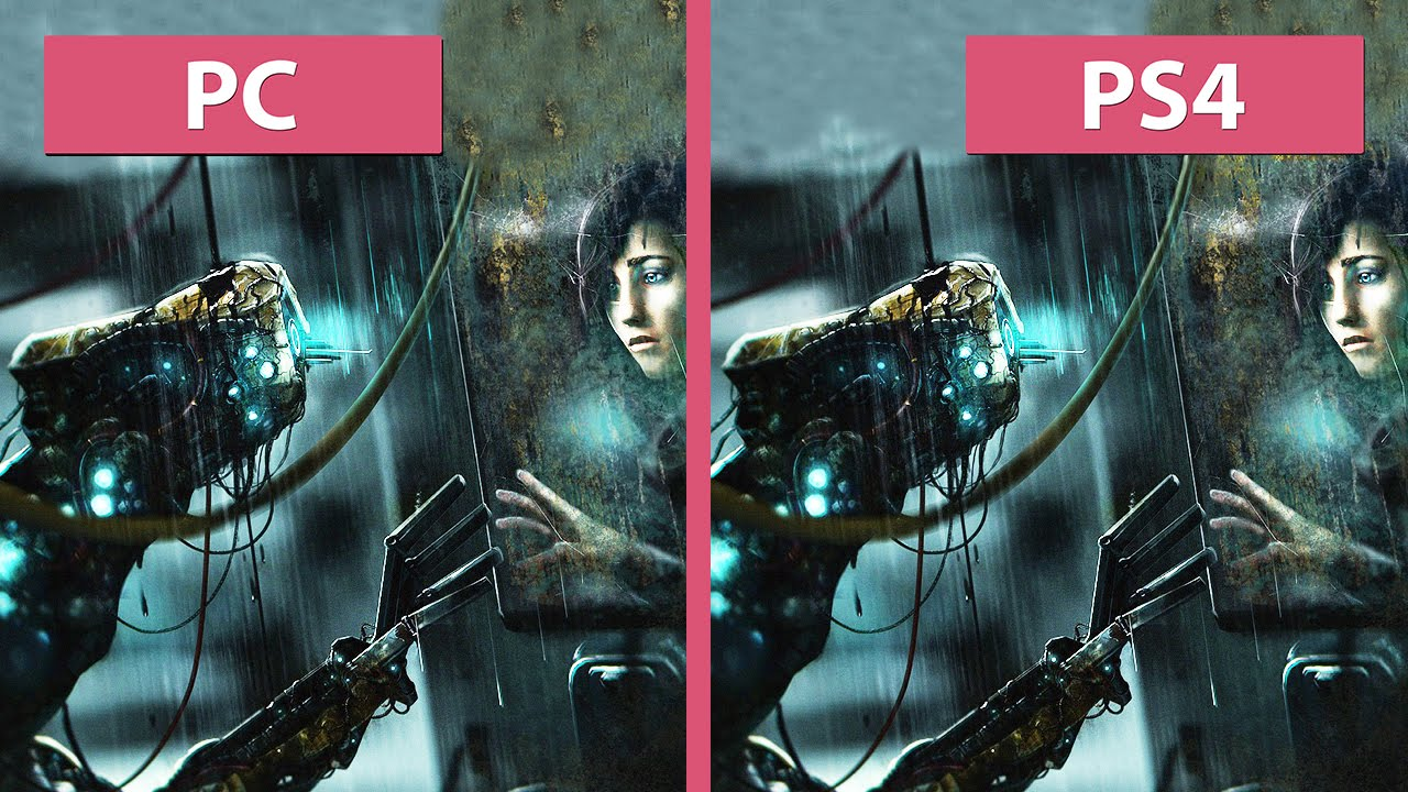 soma – pc vs. ps4 graphics comparison [fullhd][60fps] - youtube