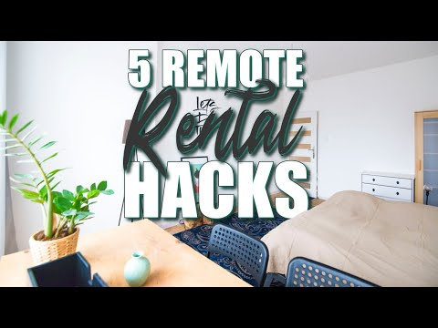 How I Work Remotely & Manage Six Rental Properties (Smart Hacking AirBnB & Property Management)