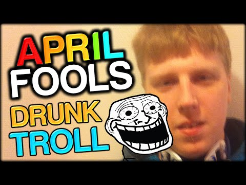 APRIL FOOLS SPECIAL PRANK - TROLLING DRUNK FELIX WITH SIMON (and facecam)