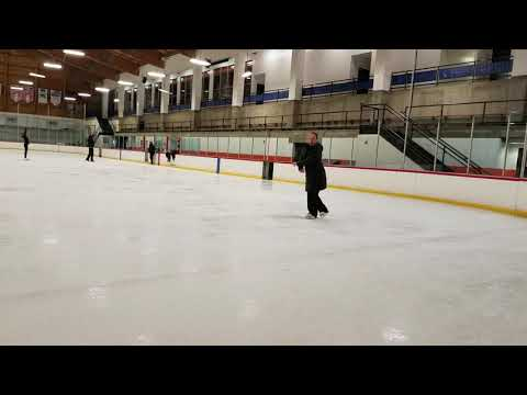 Theatre On Ice class Footwork broken down