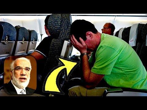 موقف عجيب جدا للشيخ عمر عبد الكافي مع ملحد في الطائرة - ماذا حدث بينهم thumbnail