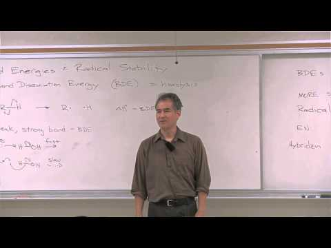 Chemistry 202. Organic Reaction Mechanisms II. Lecture 22. Radical Structure & Reactivity