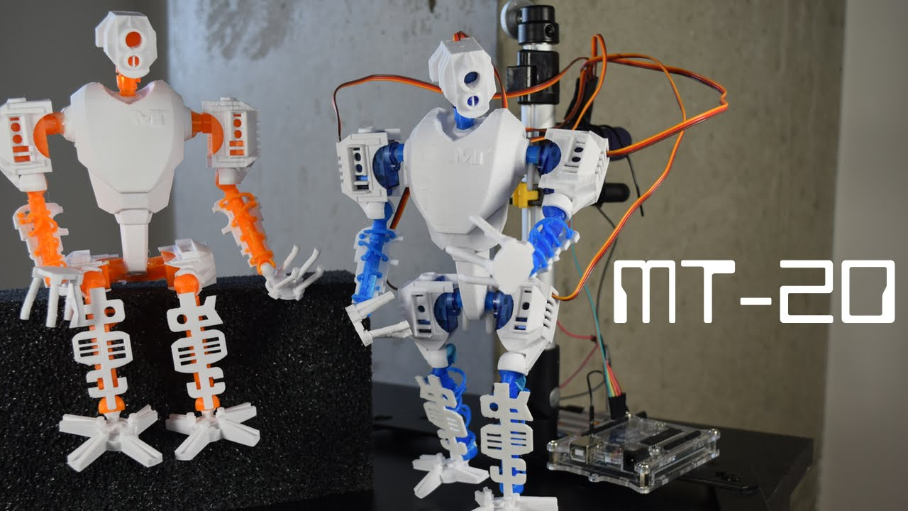 photograph regarding 3d Printable Robot titled MT-20: Useful 3D Published Robotic: 10 Techniques (with Photographs)