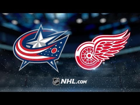 Columbus Blue Jackets vs Detroit Red Wings | Nov.26, 2018 | Game Highlights | NHL 2018/19 | Обзор