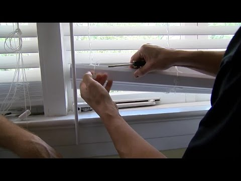 How to trim window blinds | House Calls with James Tully