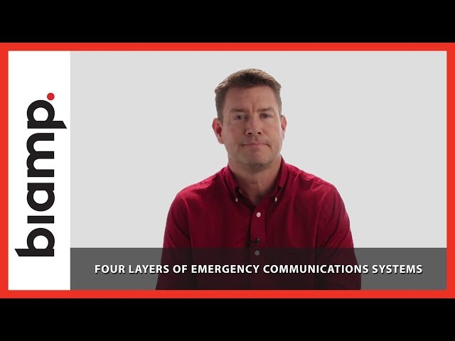 Biamp Vocia: Four Layers of Emergency Communications Systems