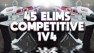 Insane 1v4 45 Elim Comp Match