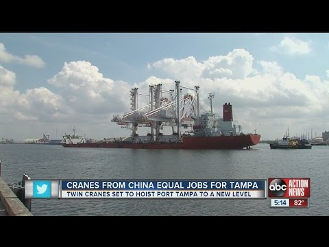 New cranes to hoist Port Tampa to new level