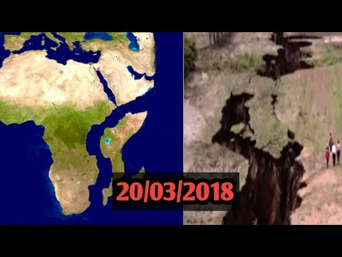 Africa Is Being Split In Two