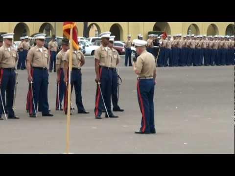 Kilo Company Platoon 3223 Marine Graduation 8-12-11