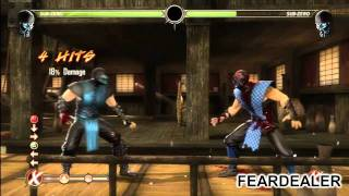 Mortal Kombat (2011): Guide To Sub-Zero With Fear Dealer