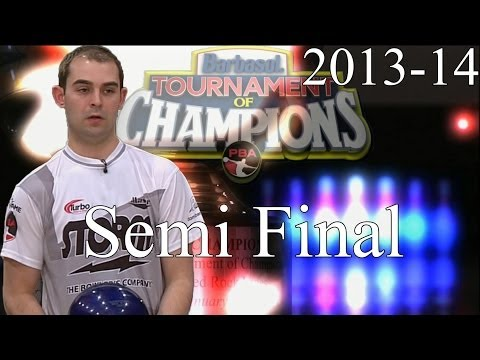 2013 -14 Barbasol PBA Tournament Of Champions Semi Final Match