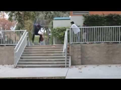 DAVID GIRON -- SKATEBOARDING -- PALMDALE, CA