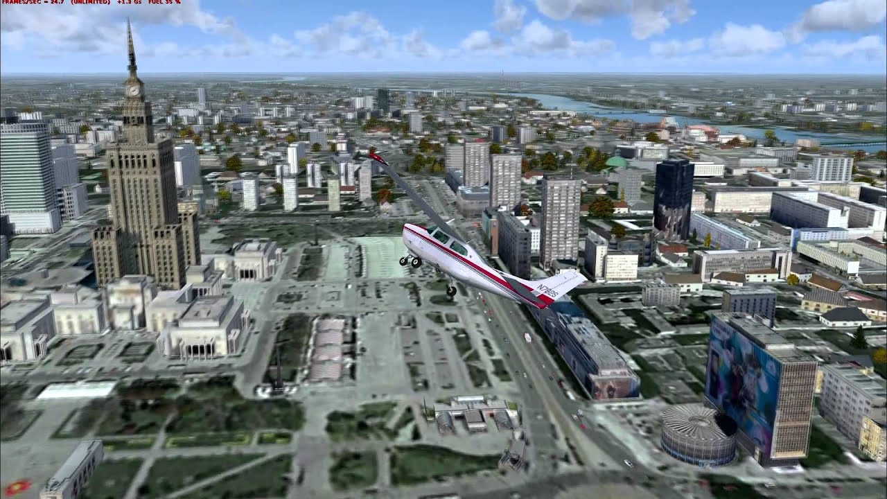 Flight Simulator X London Scenery Cross