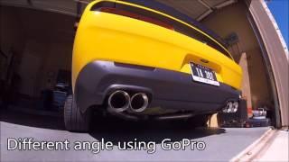 2017 dodge challenger ta 392 exhaust tips swap