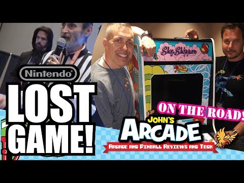 LOST GAME! Nintendo Sky Skipper Arcade -The Full Story and Review