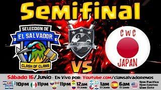 🔴 CLASH WORLD CUP 3 - EL SALVADOR vs JAPÓN - SEMIFINAL