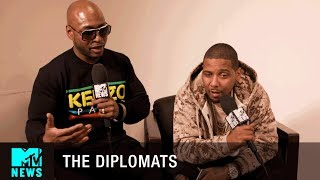 The Diplomats on Dame Dash Slapping Harvey Weinstein | MTV News