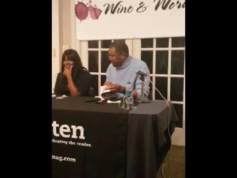 Reading with Author Eriq La Salle at Wine and Words Event 11017