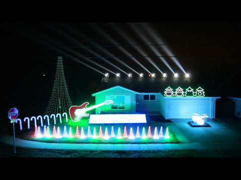 Christmas Light Show 2014 - Can Can Featured on Great Christmas Light Fight!