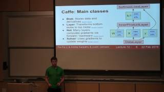 CS231n Lecture 12 - Deep Learning libraries