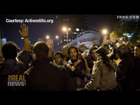 Unprecedented Refugee March Sweeps Tel Aviv