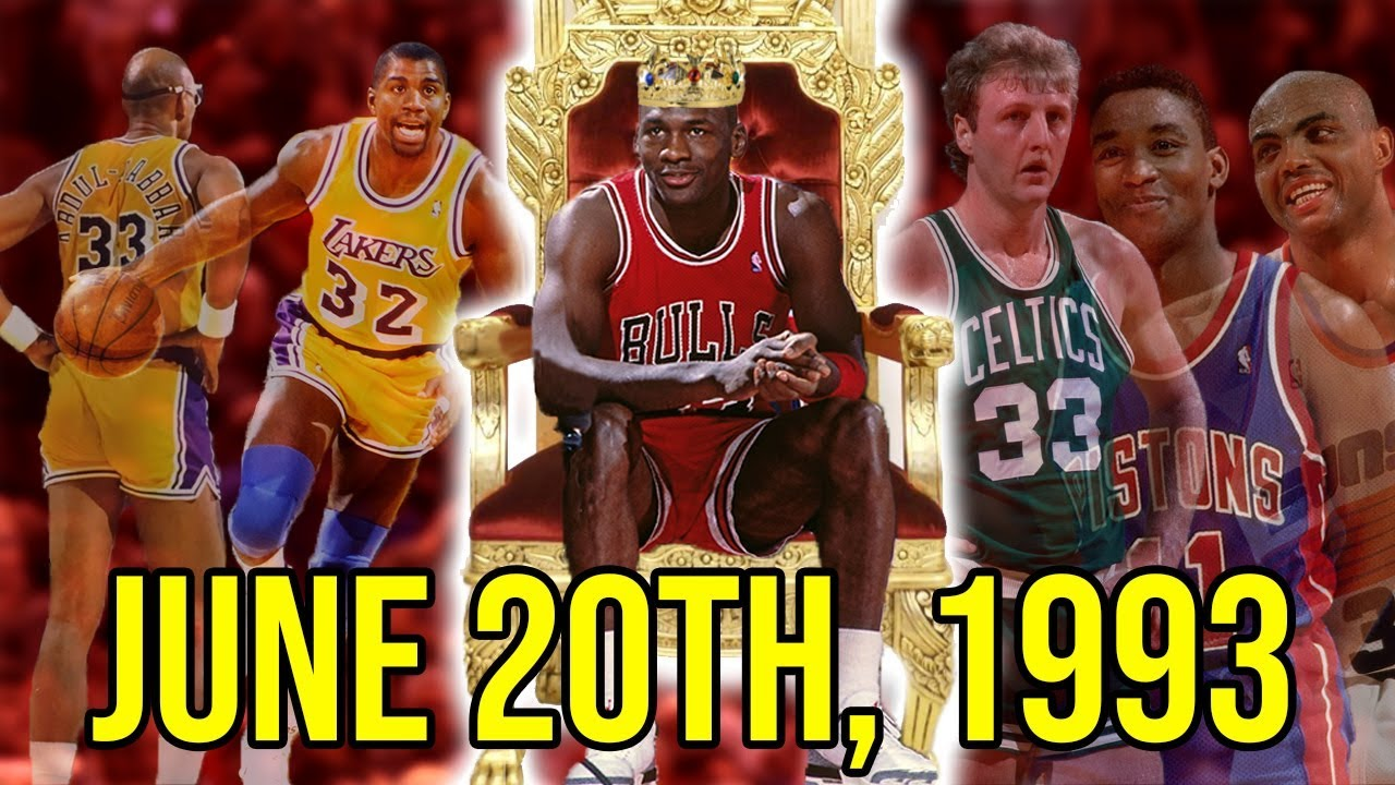 93e6d844124f The Day Michael Jordan OFFICIALLY Became The GOAT - YouTube