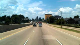 Shreveport, Louisiana as we roll West on Interstate 20