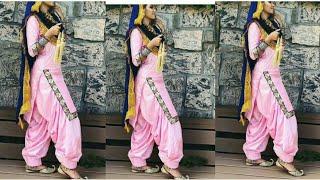 करवा चौथ/ दीपावली स्पेशल Punjabi Suits Designs idea For women