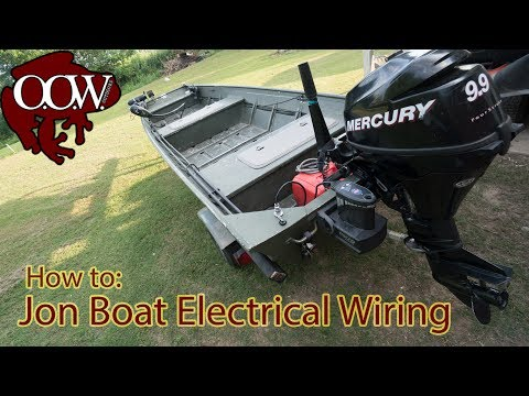 [DIAGRAM_38EU]  Jon Boat Electrical Wiring | 4k UHD - OOW Outdoors - YouTube | Jon Boat Light Wiring Diagram |  | YouTube