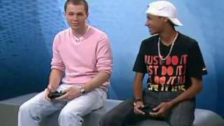 Neymar vence Tiago Leifert no video game e tira onda