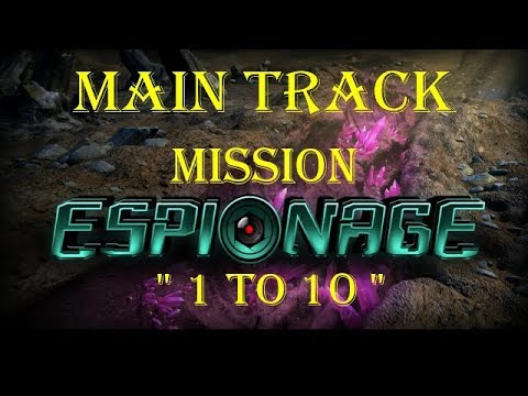 "War Commander: Espionage Main Track "" 1 to 10 "" 