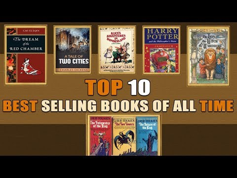 TOP 10 BEST SELLING BOOKS OF ALL TIME
