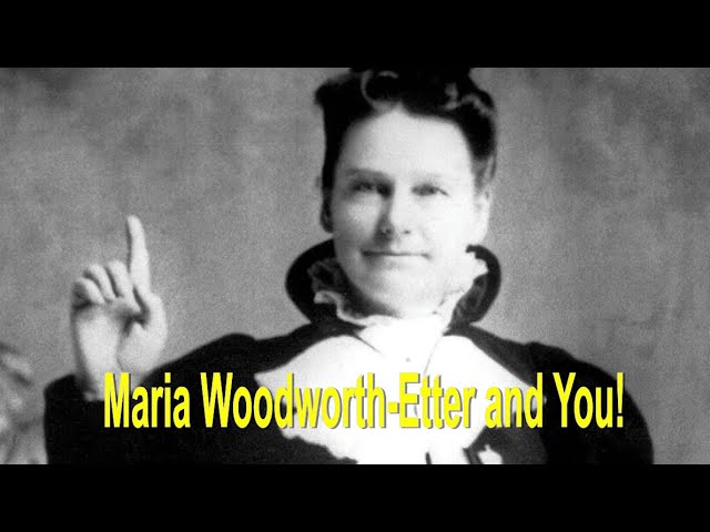 Maria Woodworth-Etter and You! - HEALING AND MIRACLE SERVICE - John 3:16 C.C. Live Stream 3/4/2021